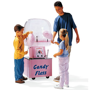 The Authentic Cotton Candy Machine