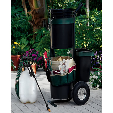 The Easy-To-Maneuver Watering Cart