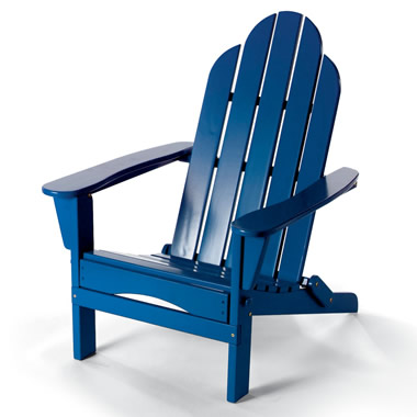 The Classic Adirondack Folding Chair