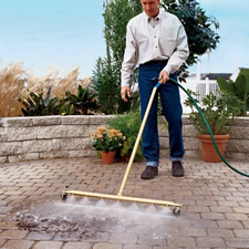 The Wide Expanse Water Broom