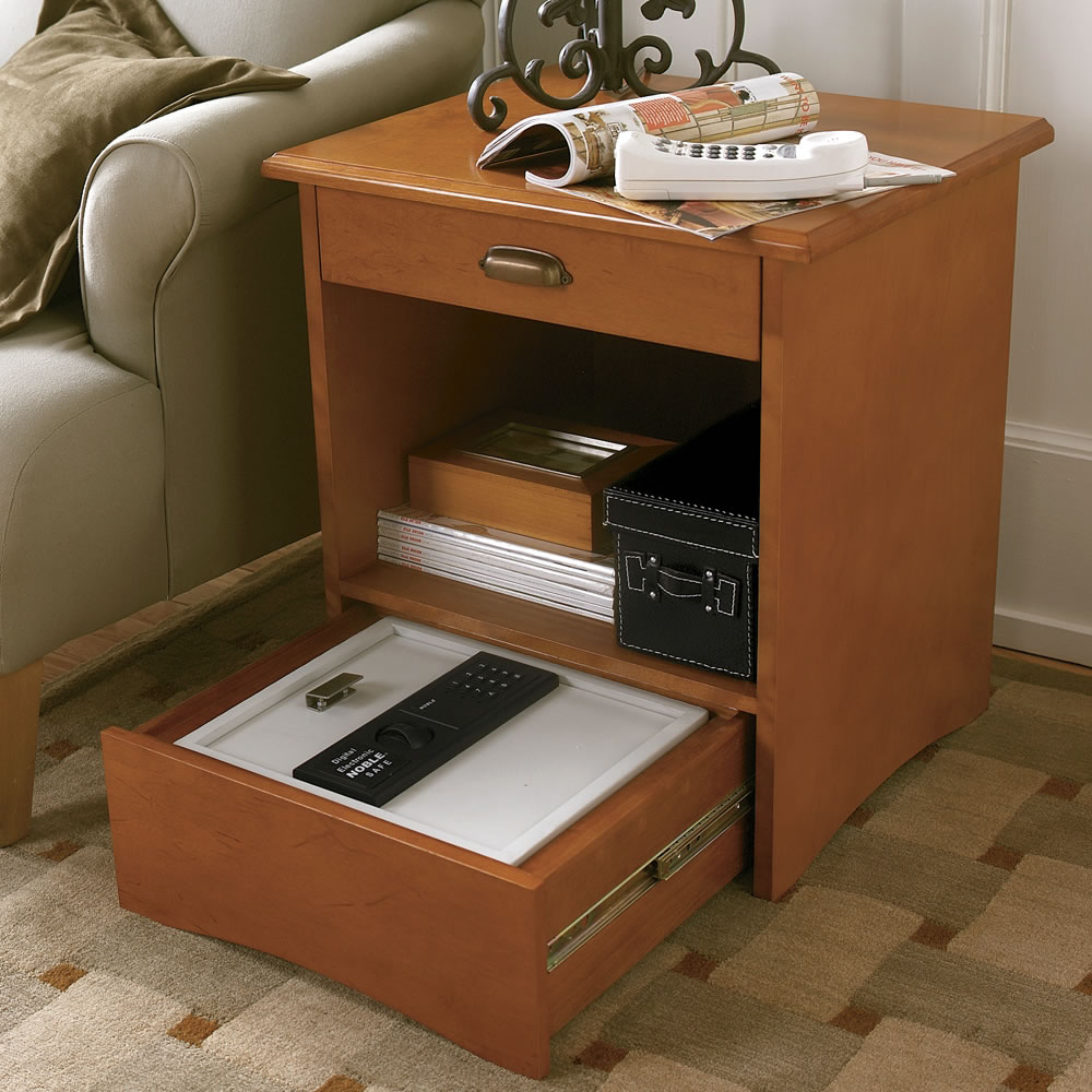 Genial The Safe Disguised As An End Table.