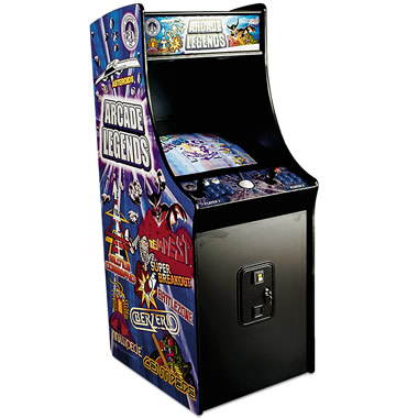The Arcade Legends Full Size 125 Game System.