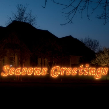 The 22-Foot Lighted Lawn Display