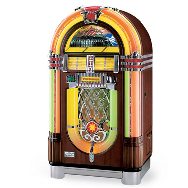 The Wurlitzer 45 Jukebox