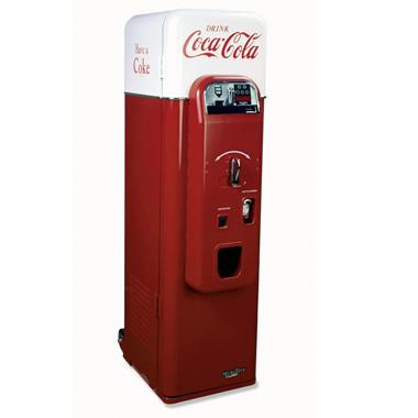 The 1956 Coca-Cola Vending Machine.