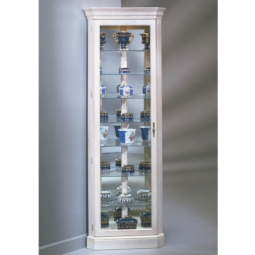 Kitchen Display Cabinet White