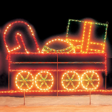 The 15-Foot Holiday Train: Package Car