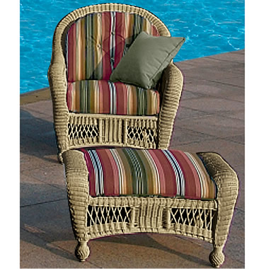 The Classic Outdoor Wicker Collection.