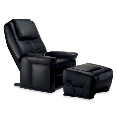 The Back, Foot, And Calf Massaging Lounge Chair With Ottoman