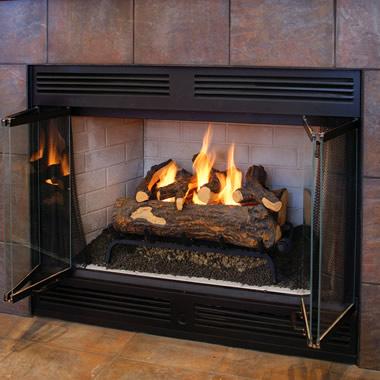 The Log Fireplace Conversion Kit