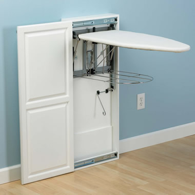 The Fold-Out Ironing Board Cabinet.