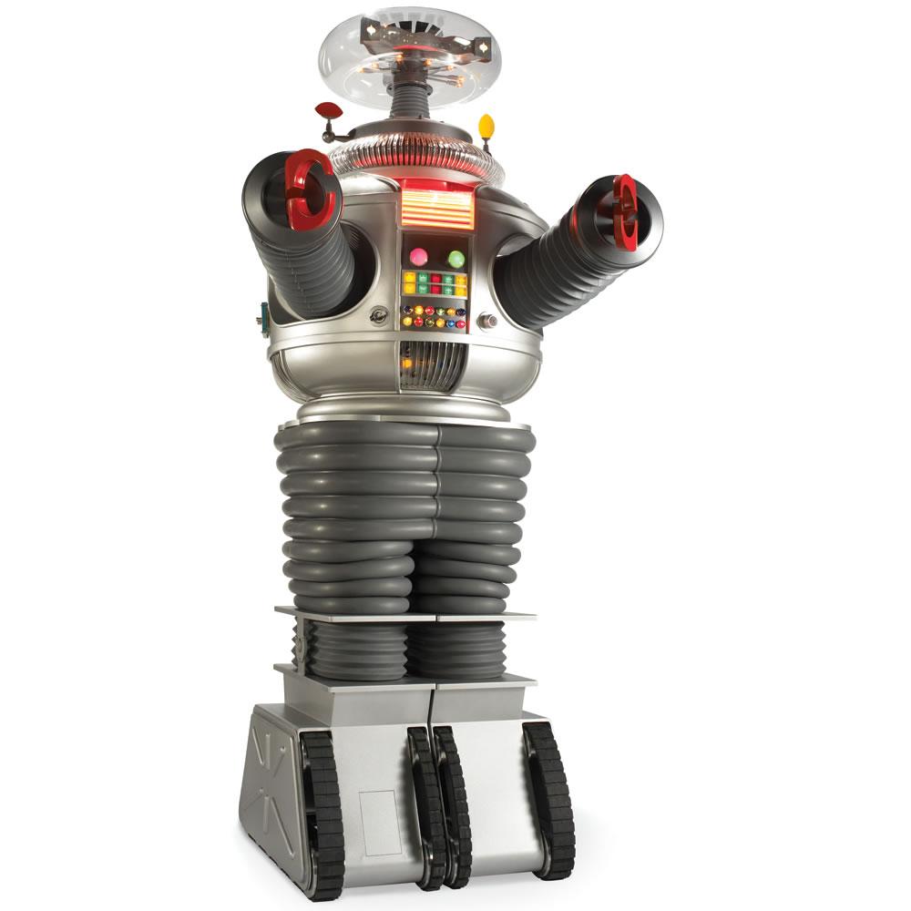 The Genuine Lost In Space B 9 Robot Hammacher Schlemmer