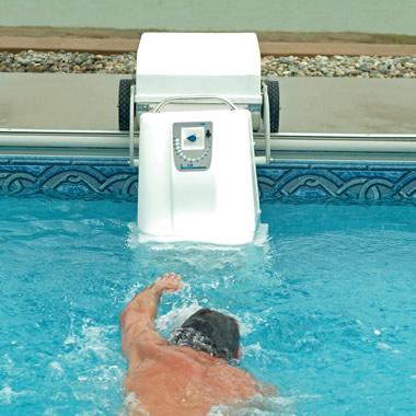 The Pool Treadmill.