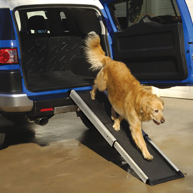 The Portable Telescoping Pet Ramp