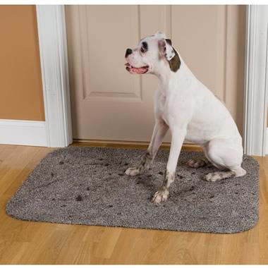 The Absorbent Low Profile Doormat (Half Oval).