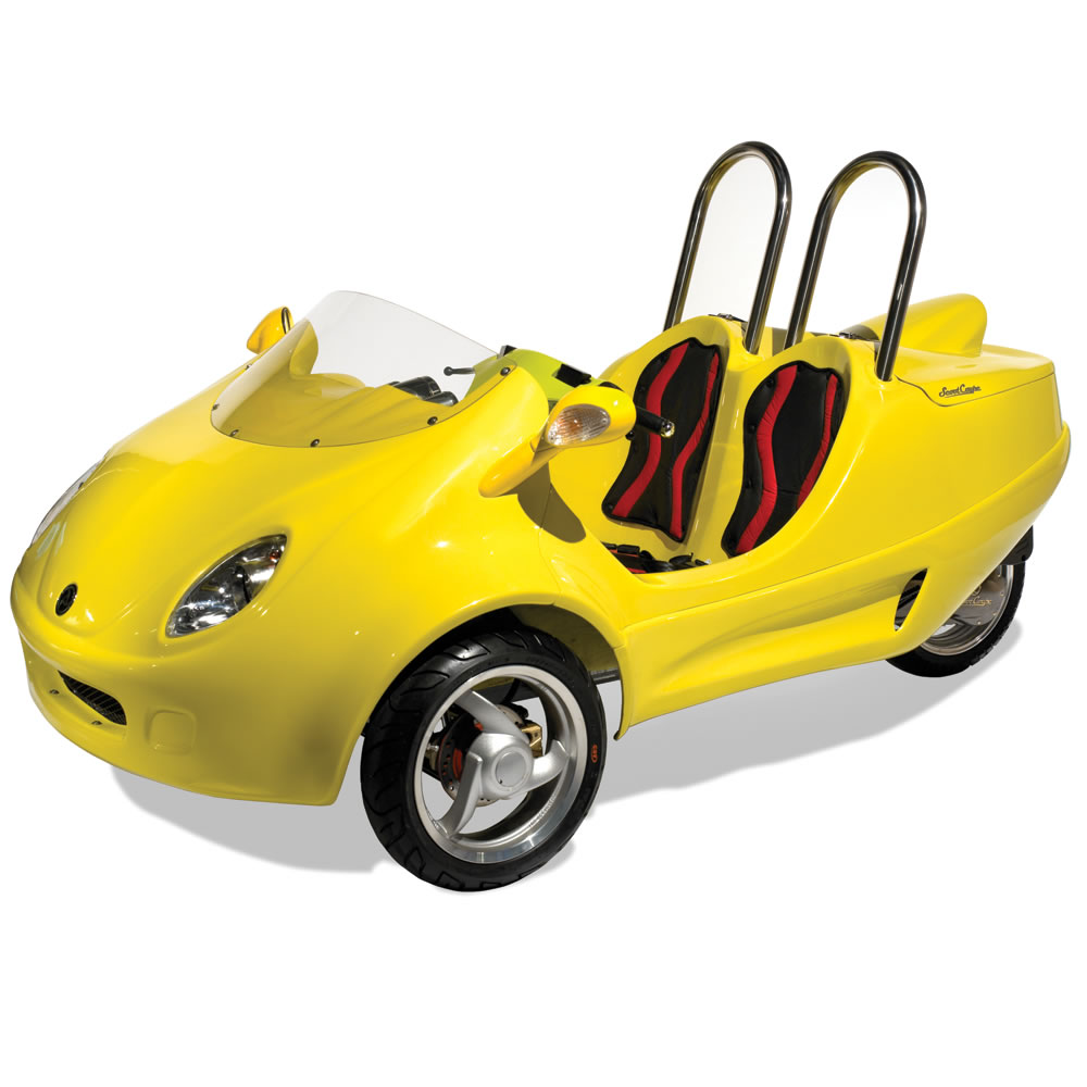 The Three Wheeled Scooter Coupe