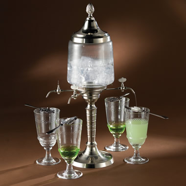 The Authentic French Absinthe Fountain Set.