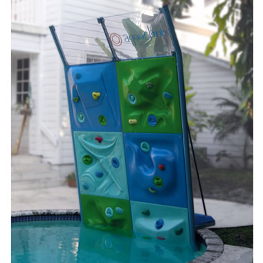 The Six Panel Aquatic Climbing Wall
