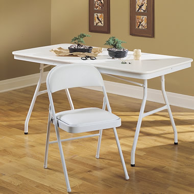 The Commercial Folding Utility Table.