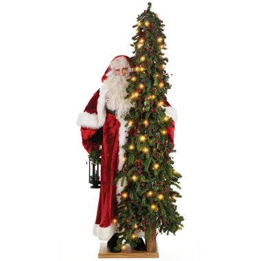 The 6 Foot Tree and Father Christmas.