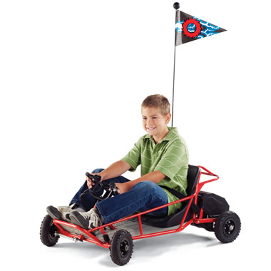 The Children's Electric Go Cart.