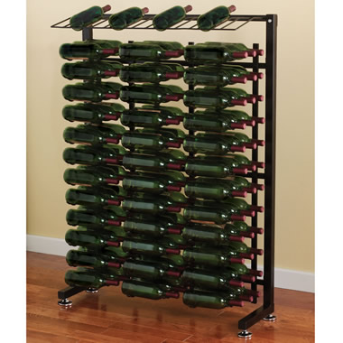 The 117 Bottle Wine Storage Rack.