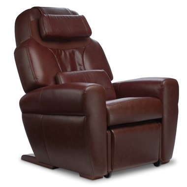 The Classic Leather Recliner With Robotic Massage.
