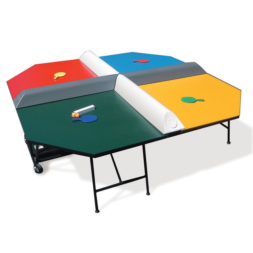 The Four Square Table Tennis Game