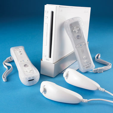 The Family Ready Wii Video Game System.