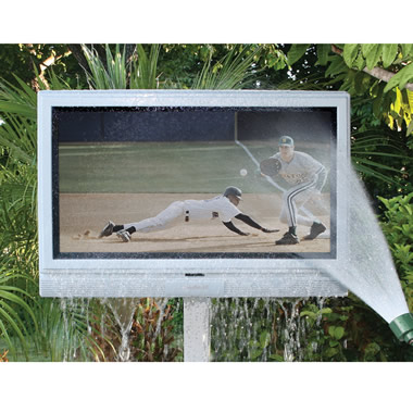 The 32 Inch Weather Resistant Outdoor HD Television.