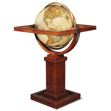 The Frank Lloyd Wright Floor Globe.