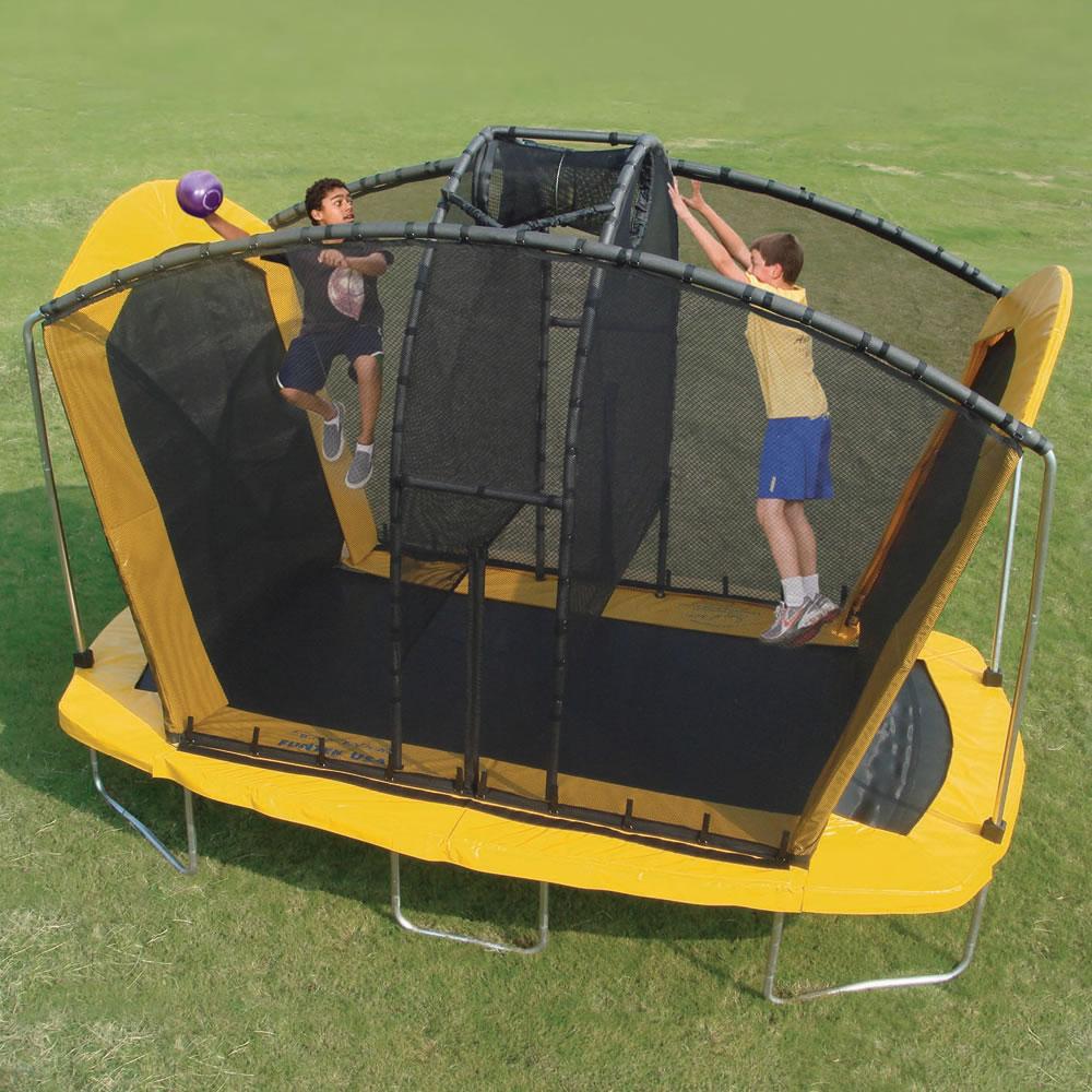 The Spaceball Trampoline Hammacher Schlemmer