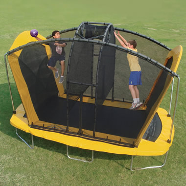 The Spaceball Trampoline.