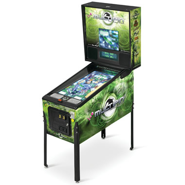 The 17 Game Digital Pinball Machine.