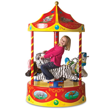 The Children's Carnival Carousel.