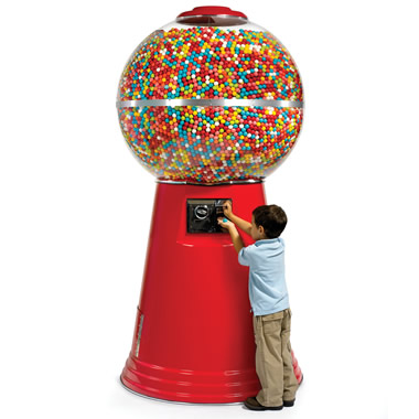 The 14,450 Gumball Machine