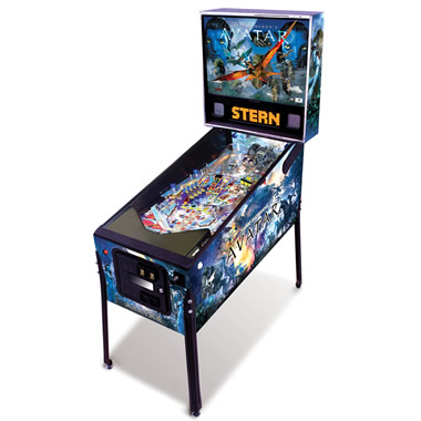 The Avatar Pinball Machine.