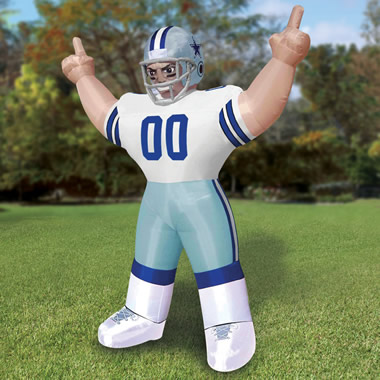 The Giant Inflatable Standing NFL Player