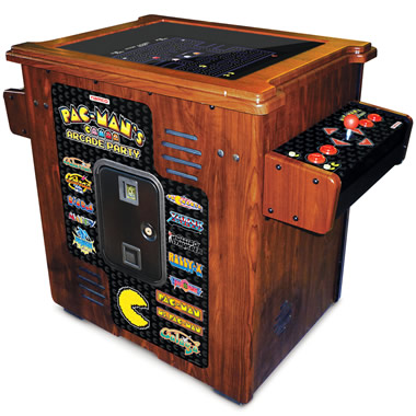 The 30th Anniversary Authentic Pac-Man Arcade Cocktail Table