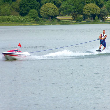 The Skier Controlled Tow Boat