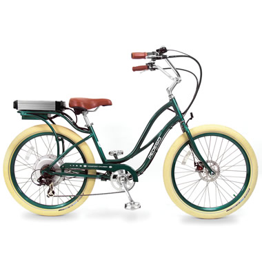 The Electric Comfort Bicycle (Step Through).