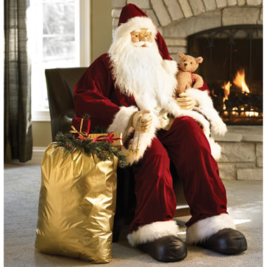 The Department Store Santa Claus.