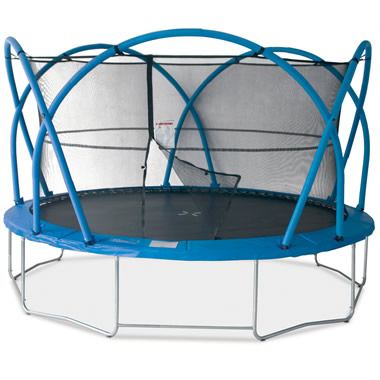 The Only Stabilizing Trampoline