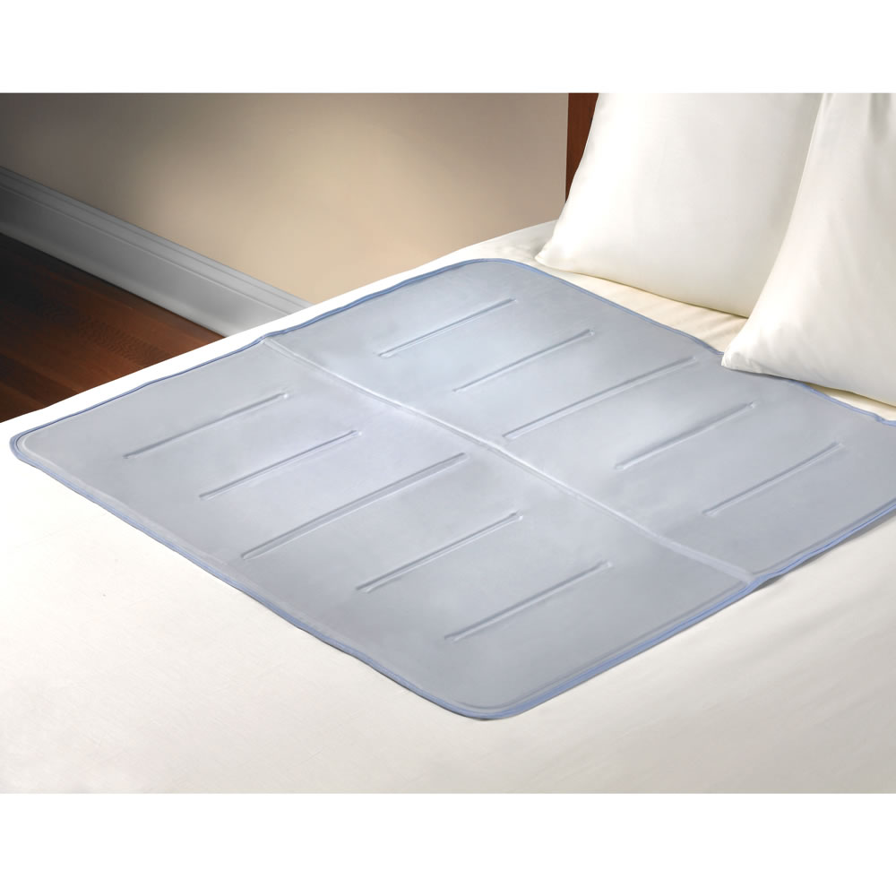 blue for mattress fantastic ilwoul bed no gel with cooling cool pad topper