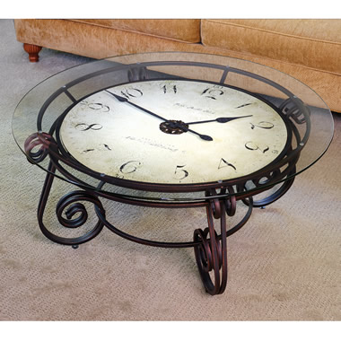 The Analog Clocktail Table