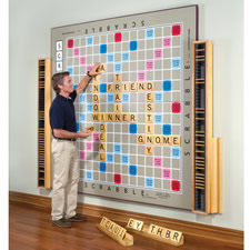 The World's Largest Scrabble Game