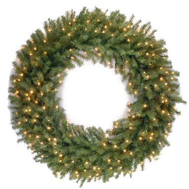 The Oversized Prelit Wreath (60 Inch)