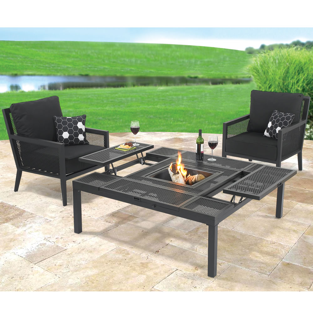 The Outdoor Convertible Coffee To Dining Table