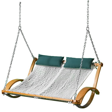The Pawleys Island Hammock Swing - Suspended