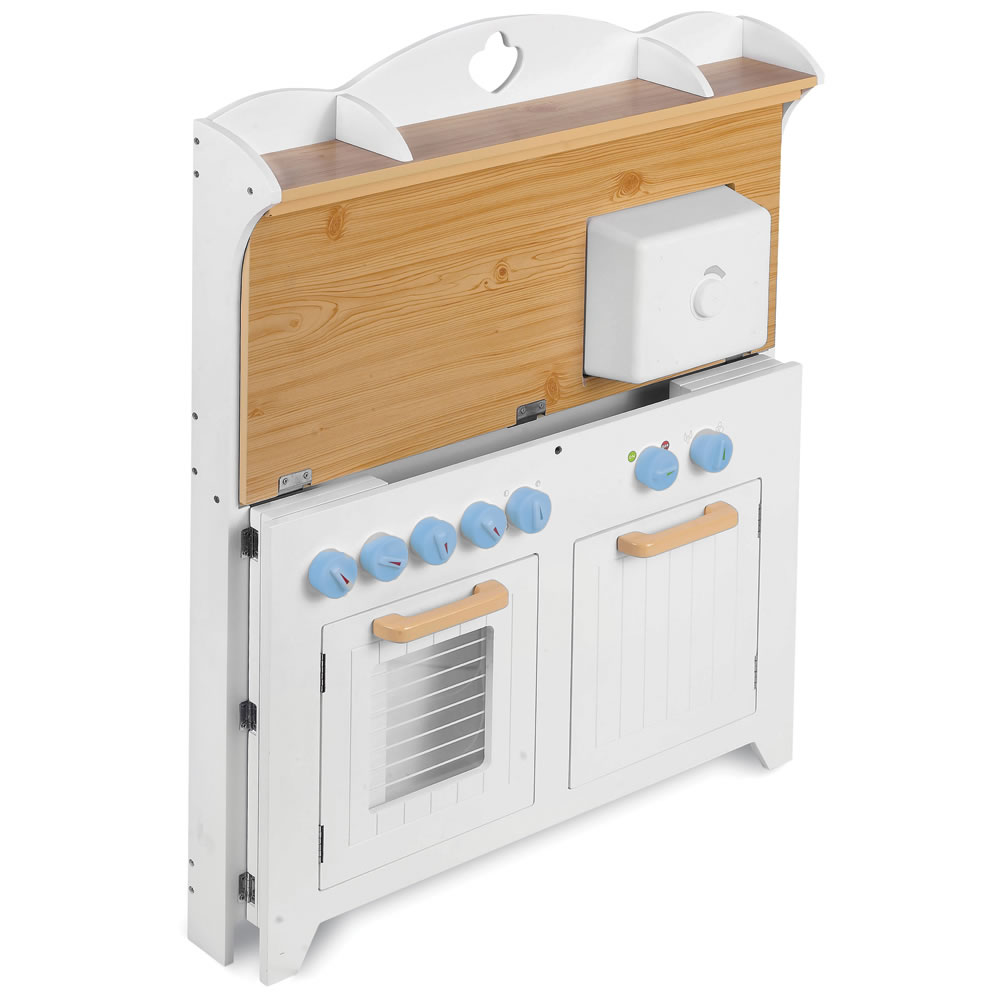 The Young Chef\'s Foldaway Kitchen Playset - Hammacher Schlemmer
